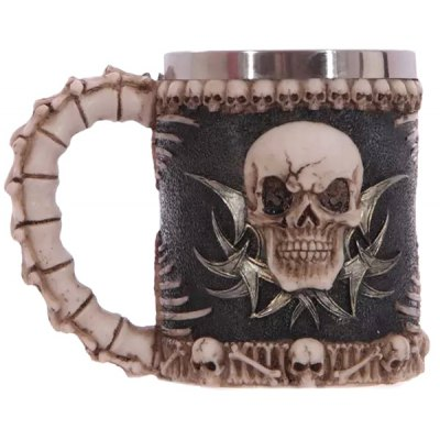 Special Handled Skull Design 400ml Wine Coffee Tea Cup