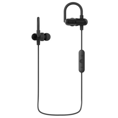 QCY QY11 Wireless Bluetooth V4.1 Sport EearphonesSports &amp; Fitness Headphones<br>QCY QY11 Wireless Bluetooth V4.1 Sport Eearphones<br><br>Application: Portable Media Player, Mobile phone, Computer<br>Bluetooth: Yes<br>Bluetooth distance: W/O obstacles ?10m<br>Bluetooth mode: Headset, Hands free<br>Bluetooth Version: V4.1<br>Brand: QCY<br>Color: Black<br>Compatible with: Computer<br>Connecting interface: Micro USB<br>Connectivity: Wireless<br>Core chip: CSR Import Chip<br>FM radio: No<br>Function: Song Switching, Answering Phone, Bluetooth, Microphone, Noise Cancelling<br>Model: QY11<br>Music Time: 7 hours<br>Package Contents: 1 x Bluetooth Headphone, 1 x USB Cable, 2 x Large Ear Tips, 2 x Medium Ear Tips, 4 x Small Ear Tips<br>Package size (L x W x H): 15.00 x 9.40 x 5.90 cm / 5.91 x 3.7 x 2.32 inches<br>Package weight: 0.208 kg<br>Product weight: 0.019 kg<br>Standby time: 180 hours<br>Wearing type: Ear Hook