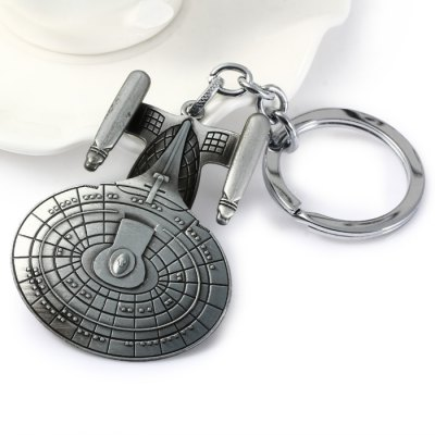 Practical Star Trek Style Metal Key ChainHome Gadgets<br>Practical Star Trek Style Metal Key Chain<br><br>Material: Alloy, Metal<br>Package Contents: 1 x Key Chain<br>Package size (L x W x H): 16.60 x 8.00 x 2.00 cm / 6.54 x 3.15 x 0.79 inches<br>Package weight: 0.0780 kg<br>Product size (L x W x H): 11.50 x 4.50 x 1.00 cm / 4.53 x 1.77 x 0.39 inches<br>Product weight: 0.0400 kg<br>Type: Key Chain