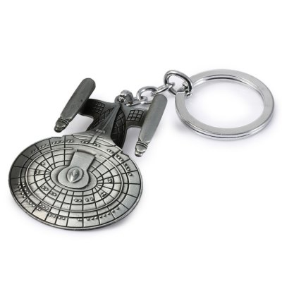 Practical Star Trek Style Metal Key Chain