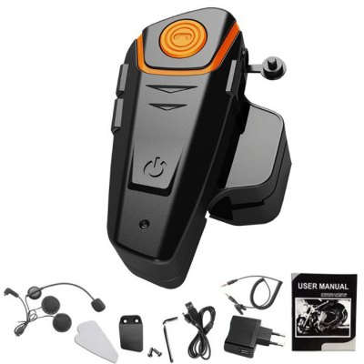 BT-S2 1000m Bluetooth Headset Motorcycle IntercomMotorcycle Intercoms<br>BT-S2 1000m Bluetooth Headset Motorcycle Intercom<br><br>Accessories type: Intercom<br>Package Contents: 1 x BT-S2 Intercom, 1 x Headset, 1 x Headset Clip, 1 x Velcro, 1 x Charger, 1 x Velcro Pad, 1 x Audio Cable, 2 x Screw, 1 x English User Manual<br>Package size (L x W x H): 12.00 x 12.00 x 9.00 cm / 4.72 x 4.72 x 3.54 inches<br>Package weight: 0.4000 kg<br>Product size (L x W x H): 9.00 x 4.00 x 3.00 cm / 3.54 x 1.57 x 1.18 inches<br>Product weight: 0.0900 kg