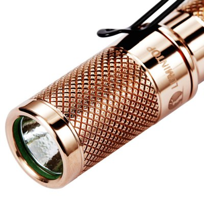 Lumintop Copper Tool AAA LED Flashlight