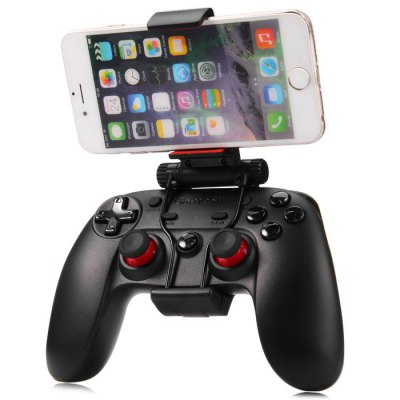 Gamesir G3s Series Wireless GamepadGame Controllers<br>Gamesir G3s Series Wireless Gamepad<br><br>Battery Type: Built-in<br>Bluetooth Version: V4.0<br>Capacity: 600mAh<br>Charge way: USB Charge<br>Charging Time: 2 - 3 hours<br>Compatible with: Tablet PC, Sony PS3, Smartphone<br>Connection Type: Bluetooth<br>Features: Charger<br>Functions: Vibration, Bluetooth<br>Model: G3s Series (Enhanced Edition)<br>Package Contents: 1 x Gamesir G3s Series Wireless Gamepad Control, 1 x Wireless Receiver, 1 x Connect Cable (About 0.5m), 1 x English / Chinese User Manual, 1 x Gamepad Bracket<br>Package size: 20.00 x 15.00 x 9.00 cm / 7.87 x 5.91 x 3.54 inches<br>Package weight: 0.4660 kg<br>Product size: 14.00 x 8.70 x 3.30 cm / 5.51 x 3.43 x 1.3 inches<br>Product weight: 0.2260 kg<br>System support: PC, Android, IOS