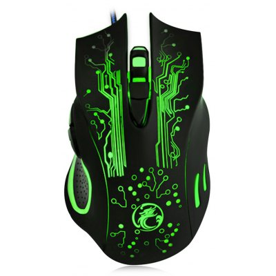 X9 6 Keys Optical 6D Wired USB Gaming Mouse