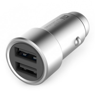 Original Xiaomi Fast Charging Car Charger Metal StyleCar Charger<br>Original Xiaomi Fast Charging Car Charger Metal Style<br><br>Brand: Xiaomi<br>Color: Silver<br>Input: DC 12 - 24V<br>Mainly Compatible with: iPad Air (iPad 5), iPhone 6S Plus, iPhone 5S, iPhone 5C, iPhone 6S, iPhone 6 Plus, iPhone 6, Samsung S6, Universal, Ipad Mini, iPhone 5, HTC One M9, Samsung Note 5, Samsung Galaxy S6 Edge Plus<br>Material: Metal<br>Output: DC 5V / 2.4A; 5V / 3.6A Max ( Total )<br>Package Contents: 1 x Original Xiaomi Car Charger<br>Package size (L x W x H): 11.00 x 6.00 x 4.00 cm / 4.33 x 2.36 x 1.57 inches<br>Package weight: 0.1400 kg<br>Product size (L x W x H): 6.00 x 2.10 x 2.20 cm / 2.36 x 0.83 x 0.87 inches<br>Product weight: 0.0370 kg<br>Type: Car Chargers