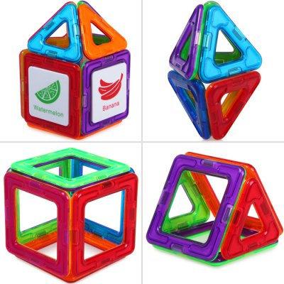 DIGE 20pcs Magnetic Block Educational Toy