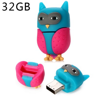 32GB Owl Type USB 2.0 Flash Memory Drive