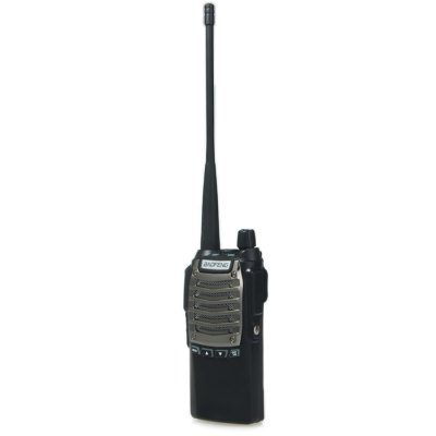 BAOFENG 128 Channels UV-8 Walkie TalkieWalkie Talkies<br>BAOFENG 128 Channels UV-8 Walkie Talkie<br><br>Adjacent Channel Power: 65dB (W) / 55dB (N)<br>Adjacent Channel Selectivity (wide/narrow): more than 65dB (W) / more than 55dB (N)<br>Antenna Impedance : 50ohm<br>Audio Distortion: 5 percent<br>Audio Power: 1W<br>Brand: Baofeng<br>Channels: 120 to 499 Channel<br>CTCSS/CTTCS Frequency Deviation (broadband/narrowband): 0.7 ± 0.1KHz (W) / 0.4 ± 0.1KHz (N)<br>Emission Current: less than 1200mAh<br>Feature: Excellent Sound Quality, Long-lasting Battery Life, Dual Band<br>Frequency Bands: FM,UHF<br>Frequency Stability : ±2.5ppm<br>Intermodulation (broadband/narrowband): more than 65dB (W) / more than 55dB (N)<br>Main Functions : VOX, Time-Out Timer (TOT), Scan, PC Programmable, FM radio, English voice prompt, CTCSS/DCS, Busy Channel Lockout (BCL), Monitoring<br>Maximum Frequency Deviation (broadband/narrowband): less than 5KHz (W) / less than 2.5KHz (N)<br>Model Number: UV-8<br>Modulation Distortion: less than 5 percent<br>Modulation Type: FM (F3E)<br>Operating temperature : -20 degree centigrade to +60 degree centigrade<br>Output Power (high/low): 8W<br>Package Contents: 1 x Walkie Talkie, 1 x Antenna, 1 x Li-ion Battery, 1 x Battery Charger, 1 x Belt Clip, 1 x AC Adapter, 1 x Hand Strap, 1 x English User Manual<br>Package Dimension: 26.00 x 21.50 x 6.00 cm / 10.24 x 8.46 x 2.36 inches<br>Package weight: 0.5910 kg<br>Product Dimension: 13.00 x 6.00 x 2.50 cm / 5.12 x 2.36 x 0.98 inches<br>Product weight: 0.1300 kg<br>Receiveing Sensitivity (broadband/narrowband): less than 0.20micro voltage (12dB SINAD)<br>Special function: Flashlight,  Over-voltage protection,  Low-voltage protection,  Scrambling function,  Compression type,  Low battery alarm<br>Spurious Response: more than 65dB