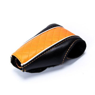 Car Handbrake Gear Shift Knob Faux Leather CoverCar Ornaments &amp; Pendant<br>Car Handbrake Gear Shift Knob Faux Leather Cover<br><br>Color: Black,Red,Blue,Green,Brown,Orange,Yellow,Gray,Beige<br>Package Contents: 1 x Car Shift Knob Cover<br>Package size (L x W x H): 22.5 x 14 x 5 cm / 8.84 x 5.50 x 1.97 inches<br>Package weight: 0.144 kg<br>Product size (L x W x H): 13 x 9 x 3 cm / 5.11 x 3.54 x 1.18 inches<br>Product weight: 0.032 kg<br>Type: Other Decorations
