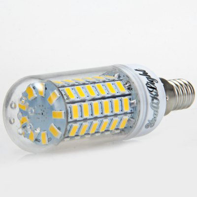 6pcs YouOKLight E14 1700Lm 18W SMD 5730 69 LED Corn Bulb LightCorn Bulbs<br>6pcs YouOKLight E14 1700Lm 18W SMD 5730 69 LED Corn Bulb Light<br><br>Angle: 360 degree<br>Available Light Color: White,Warm White<br>Brand: YouOKLight<br>CCT/Wavelength: 3000K,6000K<br>Emitter Types: SMD 5730<br>Features: 80% Brightness, Long Life Expectancy, Low Power Consumption<br>Function: Studio and Exhibition Lighting, Home Lighting, Commercial Lighting<br>Holder: E14<br>Luminous Flux: 1700LM<br>Output Power: 18W<br>Package Contents: 6 x YouOKLight LED Corn Light<br>Package size (L x W x H): 10.5 x 9.6 x 6.4 cm / 4.13 x 3.77 x 2.52 inches<br>Package weight: 0.272 kg<br>Product size (L x W x H): 9.5 x 3 x 3 cm / 3.73 x 1.18 x 1.18 inches<br>Product weight: 0.029 kg<br>Sheathing Material: PC<br>Total Emitters: 69<br>Type: Corn Bulbs<br>Voltage (V): AC 220-240