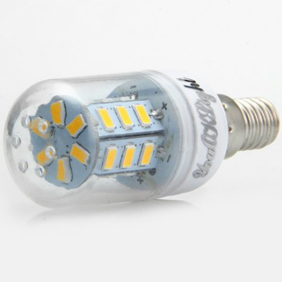 10 x YouOKLight 7W E14 SMD 5730 600LM LED Corn Lamp BulbCorn Bulbs<br>10 x YouOKLight 7W E14 SMD 5730 600LM LED Corn Lamp Bulb<br><br>Angle: 360 degree<br>Available Light Color: White,Warm White<br>Brand: YouOKLight<br>CCT/Wavelength: 3000K,6000K<br>Emitter Types: SMD 5730<br>Features: 80% Brightness, Long Life Expectancy, Low Power Consumption<br>Function: Studio and Exhibition Lighting, Home Lighting, Commercial Lighting<br>Holder: E14<br>Luminous Flux: 600LM<br>Output Power: 7W<br>Package Contents: 10 x YouOKLight LED Corn Light<br>Package size (L x W x H): 12.8 x 9.6 x 9 cm / 5.03 x 3.77 x 3.54 inches<br>Package weight: 0.320 kg<br>Product size (L x W x H): 8 x 3 x 3 cm / 3.14 x 1.18 x 1.18 inches<br>Product weight: 0.023 kg<br>Sheathing Material: PC<br>Total Emitters: 24<br>Type: Corn Bulbs<br>Voltage (V): AC 110-120