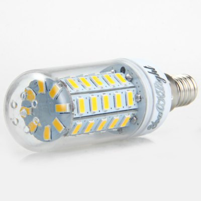 6pcs YouOKLight E14 SMD 5730 1000Lm 12W LED Corn Bulb LightCorn Bulbs<br>6pcs YouOKLight E14 SMD 5730 1000Lm 12W LED Corn Bulb Light<br><br>Angle: 360 degree<br>Available Light Color: White,Warm White<br>Brand: YouOKLight<br>CCT/Wavelength: 3000K,6000K<br>Emitter Types: SMD 5730<br>Features: 80% Brightness, Long Life Expectancy, Low Power Consumption<br>Function: Studio and Exhibition Lighting, Home Lighting, Commercial Lighting<br>Holder: E14<br>Luminous Flux: 1000LM<br>Output Power: 12W<br>Package Contents: 6 x YouOKLight LED Corn Light<br>Package size (L x W x H): 10 x 9.6 x 6.4 cm / 3.93 x 3.77 x 2.52 inches<br>Package weight: 0.266 kg<br>Product size (L x W x H): 9 x 3 x 3 cm / 3.54 x 1.18 x 1.18 inches<br>Product weight: 0.030 kg<br>Sheathing Material: PC<br>Total Emitters: 48<br>Type: Corn Bulbs<br>Voltage (V): AC 110-120