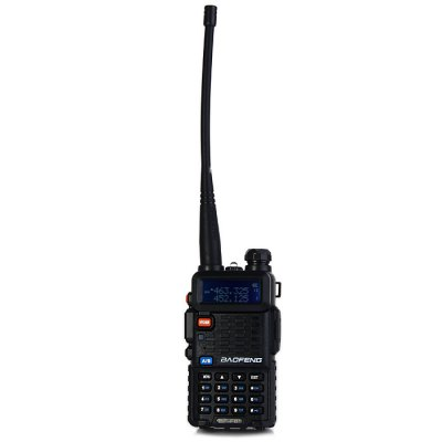 BAOFENG BF-F8+ Walkie TalkieWalkie Talkies<br>BAOFENG BF-F8+ Walkie Talkie<br><br>Adjacent Channel Power: 65dB (W), 55dB (N)<br>Adjacent Channel Selectivity (wide/narrow): More than 65dB (W), More than 55dB (N)<br>Antenna Impedance : 50ohm<br>Audio Distortion: 5 percent<br>Audio Power: 1W<br>Brand: Baofeng<br>Channels: 120 to 499 Channel<br>CTCSS/CTTCS Frequency Deviation (broadband/narrowband): 0.7 +/- 0.1KHz (W), 0.4 +/- 0.1KHz (N)<br>Feature: Long-lasting Battery Life<br>Frequency Bands: VHF,UHF<br>Frequency Stability : +/- 2.5 PPM<br>Intermodulation (broadband/narrowband): More than 65dB (W),  More than 55dB (N)<br>Main Functions : VOX, PC Programmable, Time-Out Timer (TOT), Busy Channel Lockout (BCL)<br>Maximum Frequency Deviation (broadband/narrowband): Less than 5KHz (W), Less than 2.5KHz (N)<br>Model Number: BF - F8+<br>Modulation Sensitivity: 8 - 12mV<br>Modulation Type: FM (F3E)<br>Output Power (high/low): 5W/1 W (VHF), 4W/1W (UHF)<br>Package Contents: 1 x BAOFENG BF-F8+ Walkie Talkie, 1 x Antenna, 1 x 7.4V 1800mAh Lithium Battery Pack, 1 x Lithium Battery Charger, 1 x Power Adapter, 1 x Belt Clip, 1 x Lanyard, 1 x English User Manual, 1 x Headphone<br>Package Dimension: 18.50 x 12.50 x 11.00 cm / 7.28 x 4.92 x 4.33 inches<br>Package weight: 0.480 kg<br>Product Dimension: 11.00 x 5.80 x 3.20 cm / 4.33 x 2.28 x 1.26 inches<br>Product weight: 0.109 kg<br>Receiveing Sensitivity (broadband/narrowband): Less than 0.20 micro voltage (12dB SINAD)<br>Special function: Priority Channel Scan, High / Low Power Change,  Battery Save,  W/ N,  Dual Frequency,  50 CTCSS / 104 DCS,  VOICE,  DTMF,  PTT-ID,  ANI Code,  Dual Frequency,  Emergency Alarm,  Low Power Alarm<br>Spurious Power: Less than 7.5 micro watt