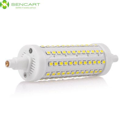 Sencart 15W R7S SMD 2835 1200Lm Dimming LED Horizontal Plug LampCorn Bulbs<br>Sencart 15W R7S SMD 2835 1200Lm Dimming LED Horizontal Plug Lamp<br><br>Angle: 360 degree<br>Available Light Color: White,Warm White<br>Brand: Sencart<br>CCT/Wavelength: 3000-3500K,6000-6500K<br>Emitter Types: SMD 2835<br>Features: 100% Brightness, Long Life Expectancy, Energy Saving, Dimmable<br>Function: Commercial Lighting, Studio and Exhibition Lighting, Home Lighting<br>Holder: R7S<br>Lifespan: 50000h<br>Luminous Flux: 1200Lm<br>Output Power: 15W<br>Package Contents: 1 x Sencart LED Horizontal Plug Light<br>Package size (L x W x H): 15 x 4 x 4 cm / 5.90 x 1.57 x 1.57 inches<br>Package weight: 0.085 kg<br>Product size (L x W x H): 11.8 x 2.8 x 2.8 cm / 4.64 x 1.10 x 1.10 inches<br>Product weight: 0.045 kg<br>Total Emitters: 108<br>Type: Horizontal Plug Lamp<br>Voltage (V): AC 85-265/50-60Hz