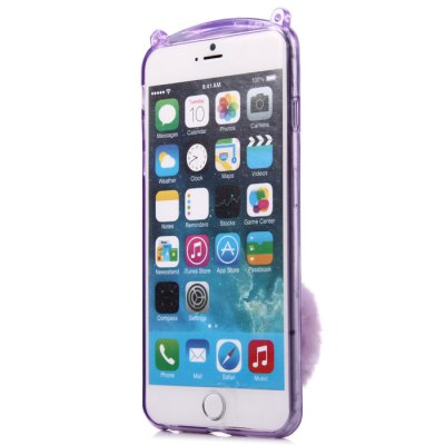 Phone Protective Case for iPhone 6 / 6S TPU Material with Rabbit StyleiPhone Cases/Covers<br>Phone Protective Case for iPhone 6 / 6S TPU Material with Rabbit Style<br><br>Color: Pink,Black,White,Blue,Purple<br>Compatible for Apple: iPhone 6, iPhone 6S<br>Features: Back Cover, With Lanyard, Anti-knock<br>Material: TPU<br>Package Contents: 1 x Protective Case, 1 x Lanyard<br>Package size (L x W x H): 19.6 x 11.2 x 4.7 cm / 7.70 x 4.40 x 1.85 inches<br>Package weight: 0.070 kg<br>Product size (L x W x H): 14.6 x 7 x 4.5 cm / 5.74 x 2.75 x 1.77 inches<br>Product weight: 0.031 kg<br>Style: Cartoon