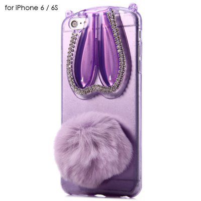 Phone Protective Case for iPhone 6 / 6S TPU Material with Rabbit Style
