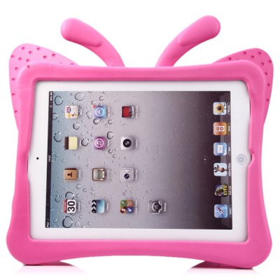 Butterfly Style EVA Foam Handle Case for iPad 2 3 4 with StandiPad Cases/Covers<br>Butterfly Style EVA Foam Handle Case for iPad 2 3 4 with Stand<br><br>Color: Pink<br>Compatible for Apple: iPad 2/3/4<br>Features: Cases with Stand, Back Cover<br>Material: EVA Foam<br>Package Contents: 1 x Case<br>Package size (L x W x H): 34.2 x 27.1 x 2.9 cm / 13.44 x 10.65 x 1.14 inches<br>Package weight: 0.369 kg<br>Product size (L x W x H): 34.1 x 27 x 3.8 cm / 13.40 x 10.61 x 1.49 inches<br>Product weight: 0.348 kg<br>Style: Special Design