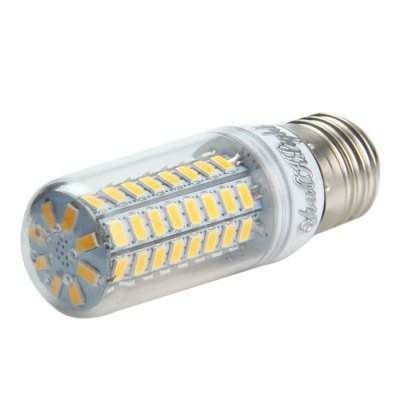 10 x YouOKLight E27 SMD 5730 15W 1500Lm LED Corn Light BulbCorn Bulbs<br>10 x YouOKLight E27 SMD 5730 15W 1500Lm LED Corn Light Bulb<br><br>Angle: 360 degree<br>Available Light Color: White,Warm White<br>Brand: YouOKLight<br>CCT/Wavelength: 3000K,6000K<br>Emitter Types: SMD 5730<br>Features: 80% Brightness, Long Life Expectancy, Low Power Consumption<br>Function: Studio and Exhibition Lighting, Home Lighting, Commercial Lighting<br>Holder: E27,E14<br>Luminous Flux: 1500Lm<br>Output Power: 15W<br>Package Contents: 10 x YouOKLight LED Corn Light<br>Package size (L x W x H): 12.8 x 9.6 x 10.5 cm / 5.03 x 3.77 x 4.13 inches<br>Package weight: 0.450 kg<br>Product size (L x W x H): 9.5 x 3 x 3 cm / 3.73 x 1.18 x 1.18 inches<br>Product weight: 0.035 kg<br>Sheathing Material: Plastic<br>Total Emitters: 72<br>Type: Corn Bulbs<br>Voltage (V): AC 220-240