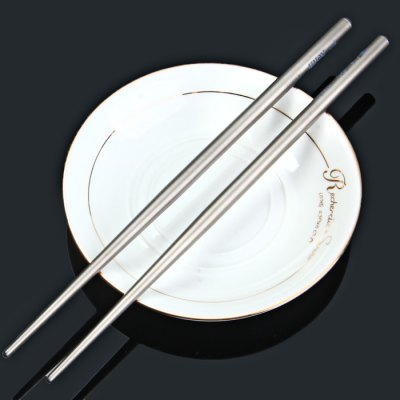 Keith Ti5621 Light Titanium Alloy Round Chopsticks