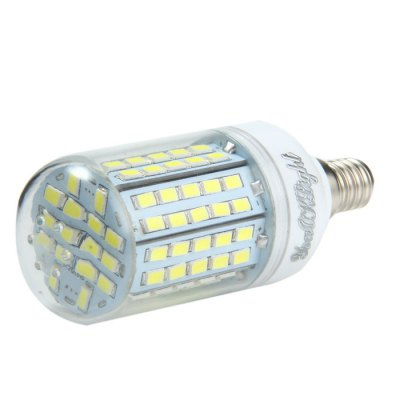 YouOKLight E14 18W SMD 5730 2000Lm LED Corn LightCorn Bulbs<br>YouOKLight E14 18W SMD 5730 2000Lm LED Corn Light<br><br>Angle: 360 degree<br>Available Light Color: White,Warm White<br>Brand: YouOKLight<br>CCT/Wavelength: 3000K,6000K<br>Emitter Types: SMD 5730<br>Features: 80% Brightness, Long Life Expectancy, Low Power Consumption<br>Function: Studio and Exhibition Lighting, Home Lighting, Commercial Lighting<br>Holder: E27,E14<br>Luminous Flux: 2000Lm<br>Output Power: 18W<br>Package Contents: 1 x YouOKLight LED Corn Light<br>Package size (L x W x H): 10.5 x 4.8 x 4.8 cm / 4.13 x 1.89 x 1.89 inches<br>Package weight: 0.073 kg<br>Product size (L x W x H): 9.5 x 3.8 x 3.8 cm / 3.73 x 1.49 x 1.49 inches<br>Product weight: 0.048 kg<br>Sheathing Material: Plastic<br>Total Emitters: 96<br>Type: Corn Bulbs<br>Voltage (V): AC 110-120