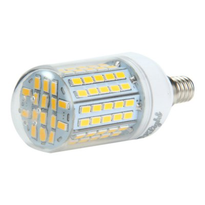 4 x YouOKLight E14 SMD 5730 2000Lm 18W LED Corn LightCorn Bulbs<br>4 x YouOKLight E14 SMD 5730 2000Lm 18W LED Corn Light<br><br>Angle: 360 degree<br>Available Light Color: White,Warm White<br>Brand: YouOKLight<br>CCT/Wavelength: 3000K,6000K<br>Emitter Types: SMD 5730<br>Features: 80% Brightness, Long Life Expectancy, Low Power Consumption<br>Function: Studio and Exhibition Lighting, Home Lighting, Commercial Lighting<br>Holder: E27,E14<br>Luminous Flux: 2000Lm<br>Output Power: 18W<br>Package Contents: 4 x YouOKLight LED Corn Light<br>Package size (L x W x H): 10.5 x 8 x 8 cm / 4.13 x 3.14 x 3.14 inches<br>Package weight: 0.242 kg<br>Product size (L x W x H): 9.5 x 3.8 x 3.8 cm / 3.73 x 1.49 x 1.49 inches<br>Product weight: 0.048 kg<br>Sheathing Material: Plastic<br>Total Emitters: 96<br>Type: Corn Bulbs<br>Voltage (V): AC 110-120