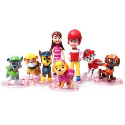 Character Model Toy 8Pcs   Set