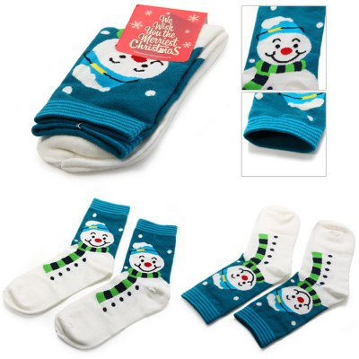 Creative Snowman Style Christmas SocksChristmas Supplies<br>Creative Snowman Style Christmas Socks<br><br>Color: Assorted Colors<br>For: All<br>Material: Cotton<br>Package Contents: 1 x Pair of Christmas Sock<br>Package size (L x W x H): 21 x 12 x 2.5 cm / 8.25 x 4.72 x 0.98 inches<br>Package weight: 0.064 kg<br>Product size (L x W x H): 27.5 x 8 x 1.5 cm / 10.81 x 3.14 x 0.59 inches<br>Product weight: 0.032 kg<br>Usage: New Year, Performance, Christmas, Stage, Party