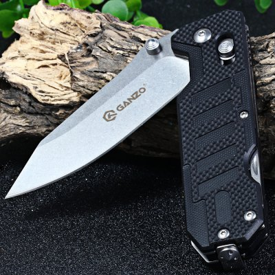 Ganzo G735-BK Multi-function Axis Lock Pocket KnifePocket Knives and Folding Knives<br>Ganzo G735-BK Multi-function Axis Lock Pocket Knife<br><br>Blade Edge Type: Fine<br>Blade Length: 9.0 cm<br>Blade Length Range: 5cm-10cm<br>Blade Material: 440C Stainless Steel<br>Blade Width : 2.6 cm<br>Brand: GANZO<br>Clip Length: 5.6 cm<br>Color: Black,Green,Orange<br>For: Mountaineering, Collecting, Travel, Home use, Adventure, Hiking, Camping<br>Handle Material: G10 Handle<br>Lock Type: Axis Lock<br>Model Number: G735 - BK<br>Package Contents: 1 x Ganzo G735-BK Folding Knife, 1 x Storage Pouch<br>Package size (L x W x H): 14.50 x 6.20 x 4.00 cm / 5.71 x 2.44 x 1.57 inches<br>Package weight: 0.205 KG<br>Product size (L x W x H): 11.50 x 3.60 x 1.80 cm / 4.53 x 1.42 x 0.71 inches<br>Product weight: 0.141KG<br>Unfold Length: 20.5 cm<br>Weight Range: 101g-200g