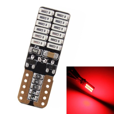 MZ T10 24 SMD 4014 4.8W LED Car Width LightCar Lights<br>MZ T10 24 SMD 4014 4.8W LED Car Width Light<br><br>Connector: T10<br>Emitting color: Pink,White,Red,Blue,Green,Yellow,Ice Blue<br>LED Quantity: 24pcs<br>LED Type: SMD 4014<br>Lumen: 720LM<br>Model: T10-4014-24smd<br>Package Contents: 1 x Car LED Light<br>Package size (L x W x H): 12.00 x 8.00 x 0.60 cm / 4.72 x 3.15 x 0.24 inches<br>Package weight: 0.0100 kg<br>Product size (L x W x H): 3.00 x 1.00 x 0.50 cm / 1.18 x 0.39 x 0.2 inches<br>Product weight: 0.0020 kg<br>Type: Clearance Light, Turn Signal Light, License Plate Light, Dashboard Warning Indicator<br>Type of lamp-house : LED<br>Voltage: 12-24V