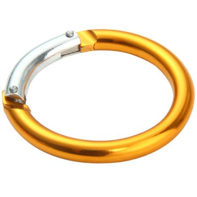 Round-shaped Aluminum Alloy CarabinerCarabiner<br>Round-shaped Aluminum Alloy Carabiner<br><br>Best Use: Climbing,Hiking,Mountaineering,Backpacking<br>Material: Aluminum Alloy<br>Package Contents: 5 x Round-shaped Carabiner<br>Package Dimension: 10.2 x 10.6 x 3.6 cm / 4.01 x 4.17 x 1.41 inches<br>Package weight: 0.106 kg<br>Product Dimension: 6.0 x 6.0 x 0.7 cm / 2.36 x 2.36 x 0.28 inches<br>Product weight: 0.017 kg