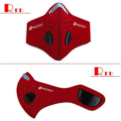 NUCKILY Filter Mask with Activated Carbon for PM 2.5