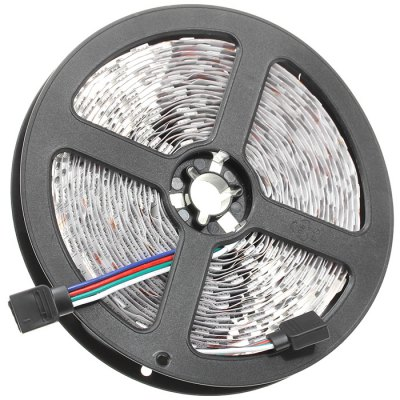 BRELONG 5M 60W 60 x SMD 5050 / M RGB LED Light StripLED Strips<br>BRELONG 5M 60W 60 x SMD 5050 / M RGB LED Light Strip<br><br>Actual Lumens: 5000Lm<br>Brand: BRELONG<br>CCT/Wavelength: 3000-3500K,6000-7000K<br>Connector Type: US plug, EU plug<br>Features: Cuttable<br>Input Voltage: AC100-240<br>LED Type: SMD-5050<br>Length: 5<br>Material: FPC<br>Number of LEDs: 60 x SMD 5050 / M<br>Optional Light Color: Warm White,RGB,Cool White<br>Package Contents: 1 x LED Strip Light, 1 x Adapter, 1 x Cable, 1 x Remote Controller, 1 x Control Box<br>Package size (L x W x H): 25 x 22 x 4 cm / 9.83 x 8.65 x 1.57 inches<br>Package weight: 0.45 kg<br>Product size (L x W x H): 500 x 1 x 0.3 cm / 196.50 x 0.39 x 0.12 inches<br>Product weight: 0.380 kg<br>Type: LED Strip