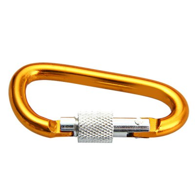 5D D-shaped Lock CarabinerCarabiner<br>5D D-shaped Lock Carabiner<br><br>Best Use: Hiking,Mountaineering,Backpacking<br>Material: Aluminum Alloy<br>Package Contents: 2 x 5D D-shaped Lock Carabiner<br>Package Dimension: 6.2 x 4.2 x 2.0 cm / 2.44 x 1.65 x 0.79 inches<br>Package weight: 0.032 kg<br>Product Dimension: 4.7 x 2.8 x 0.5 cm / 1.85 x 1.10 x 0.20 inches<br>Product weight: 0.005 kg<br>Tensile Load: 2kg<br>With Lock: Yes