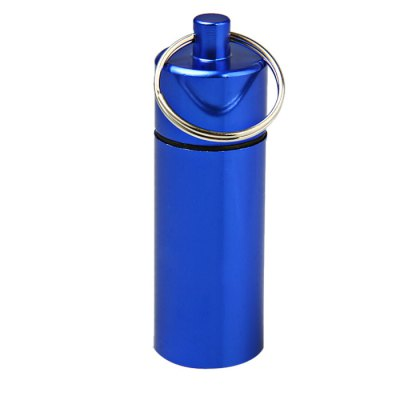 Portable Aluminum Alloy Cylinder Shaped CartridgeEmergency Shelter and First Aid<br>Portable Aluminum Alloy Cylinder Shaped Cartridge<br><br>Color: Red,Blue,Green,Purple,Silver<br>Material: Aluminum Alloy<br>Package Contents: 5 x Cylinder Shaped Aluminum Alloy Cartridge<br>Package weight: 0.130 kg<br>Product weight: 0.022 kg<br>Type: Other Camping Gear
