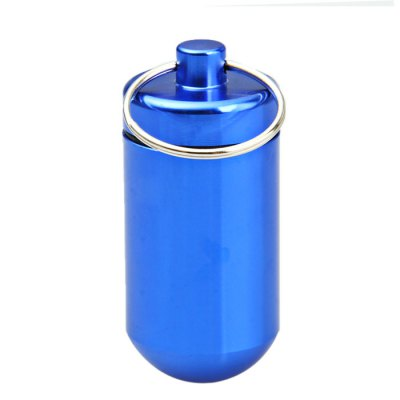 Mini Aluminum Alloy Cylinder Shaped CartridgeEmergency Shelter and First Aid<br>Mini Aluminum Alloy Cylinder Shaped Cartridge<br><br>Color: Black,Red,Blue,Green,Purple,Silver<br>Material: Aluminum Alloy<br>Package Contents: 10 x Aluminum Alloy Cylinder Shaped Cartridge<br>Package weight: 0.190 kg<br>Product weight: 0.016 kg<br>Type: Other Camping Gear