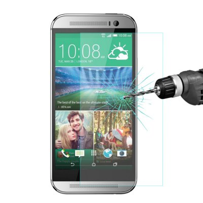 Hat-Prince Protective Tempered Glass Screen Film for HTC One M8