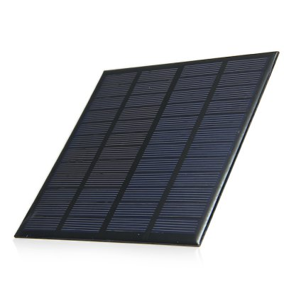 3W 12V Polycrystalline Silicon Solar Cell for DIY Charger