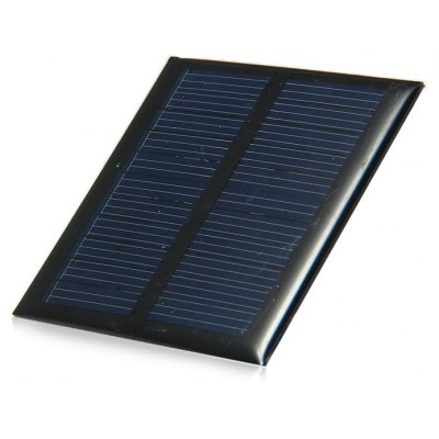 0.6W 5.5V Polycrystalline Silicon Solar Cell for DIY Charger