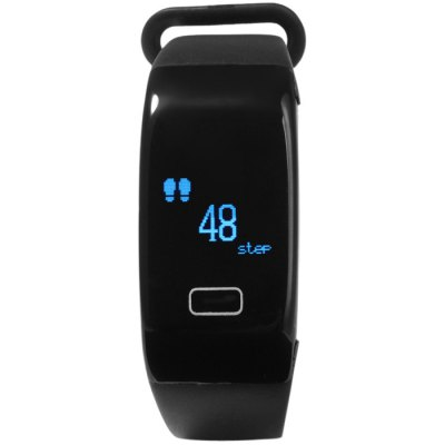 K18 Heart Rate Smart WristbandSmart Wristband<br>K18 Heart Rate Smart Wristband<br><br>Alert type: Vibration<br>Band material: Rubber<br>Bluetooth Version: Bluetooth 4.0<br>Case material: PC<br>Colors: Black<br>Compatability: Android 4.3 / iOS 7.0 and above system<br>Compatible OS: IOS, Android<br>Functions: Steps counting, Time, SMS Reminding, Sleep management, Measurement of heart rate, Distance recording, Date, Calories burned measuring, Call reminder, Alarm Clock<br>Language: English<br>Package Contents: 1 x K18 Smart Wristband, 1 x Charging Clip, 1 x Chinese and English Manual<br>Package size (L x W x H): 11.50 x 7.50 x 7.50 cm / 4.53 x 2.95 x 2.95 inches<br>Package weight: 0.100 kg<br>People: Female table,Male table<br>Product size (L x W x H): 23.00 x 2.30 x 0.90 cm / 9.06 x 0.91 x 0.35 inches<br>Product weight: 0.019 kg<br>Screen: Yes<br>Screen type: OLED<br>Shape of the dial: Rectangle<br>Standby time: About 5 days<br>The band width: 1.5 cm / 0.59 inches<br>The dial diameter: 2.3 x 4.5 cm / 0.91 x 1.77 inches<br>The dial thickness: 0.9 cm / 0.35 inches<br>Waterproof: Yes<br>Waterproof Rating : Life water resistance<br>Wearable length: 16 - 21 cm / 6.30 - 6.27 inches