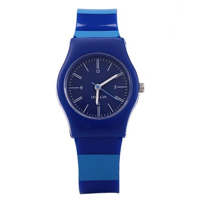 Willis Stripe Pattern Women Quartz WatchWomens Watches<br>Willis Stripe Pattern Women Quartz Watch<br><br>Available Color: Black,Blue,Green<br>Band material: Plastic<br>Brand: WILLIS<br>Case material: Plastic<br>Clasp type: Pin buckle<br>Display type: Analog<br>Movement type: Quartz watch<br>Package Contents: 1 x Willis Watch<br>Package size (L x W x H): 22 x 3.6 x 1.6 cm / 8.65 x 1.41 x 0.63 inches<br>Package weight: 0.067 kg<br>Product size (L x W x H): 21 x 2.6 x 0.6 cm / 8.25 x 1.02 x 0.24 inches<br>Product weight: 0.017 kg<br>Shape of the dial: Round<br>Style: Fashion&amp;Casual<br>The band width: 1.4 cm / 0.55 inches<br>The dial diameter: 2.6 cm / 1.02 inches<br>The dial thickness: 0.6 cm / 0.24 inches<br>Watches categories: Female table<br>Wearable length: 14 - 19 cm / 5.51 - 7.48 inches