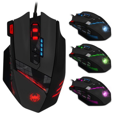 ZELOTES C-12 Wired USB Optical Game Mouse