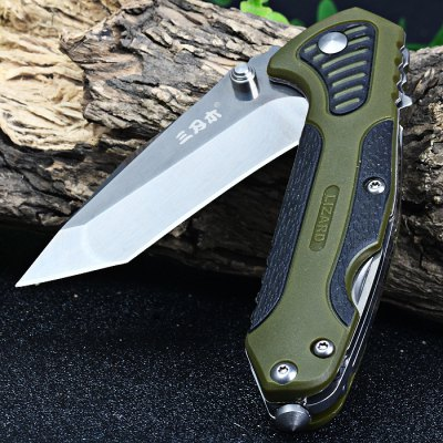Sanrenmu 7094 STX-PPH-T4 Multi-function Folding KnifePocket Knives and Folding Knives<br>Sanrenmu 7094 STX-PPH-T4 Multi-function Folding Knife<br><br>Blade Edge Type: Fine<br>Blade Length: 6.6 cm<br>Blade Length Range: 5cm-10cm<br>Blade Material: Stainless Steel<br>Blade Width : 2.1 cm<br>Brand: Sanrenmu<br>Clip Length: 4.0 cm<br>Color: Green<br>For: Mountaineering, Collecting, Travel, Home use, Adventure, Hiking, Camping<br>Handle Material: Plastic<br>Lock Type: No lock<br>Model Number: 7094 STX - PPH - T4<br>Package Contents: 1 x Sanrenmu 7094 STX-PPH-T4 Folding Knife<br>Package size (L x W x H): 16 x 9.5 x 3.5 cm / 6.29 x 3.73 x 1.38 inches<br>Package weight: 0.135 kg<br>Product size (L x W x H): 9.7 x 3.0 x 1.5 cm / 3.81 x 1.18 x 0.59 inches<br>Product weight: 0.076 kg<br>Unfold Length: 16.5 cm<br>Weight Range: 51g-100g