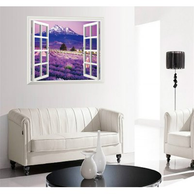 3D Lavender Flower Sea Style PVC Wall StickersChristmas Supplies<br>3D Lavender Flower Sea Style PVC Wall Stickers<br><br>Art Style: Plane Wall Stickers<br>Effect Size (L x W): 60 x 90cm<br>Functions: Decorative Wall Stickers<br>Hang In/Stick On: Bathroom,Living Rooms,Bedrooms,Nurseries,Offices,Cafes,Hotels,Toilet,Stair,Lobby,Kids Room<br>Material: Vinyl(PVC)<br>Package Contents: 1 x Wall Sticker<br>Package size (L x W x H): 60 x 5 x 5 cm / 23.58 x 1.97 x 1.97 inches<br>Package weight: 0.180 kg<br>Product size (L x W x H): 60 x 90 x 0.5 cm / 23.58 x 35.37 x 0.20 inches<br>Product weight: 0.150 kg<br>Sizes: 60 x 90cm<br>Subjects: Landscape,Still Life,Others