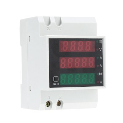 D52-2047 AC 80 - 300V 100A Voltmeter Ammeter Power MeterConsumer Electronics<br>D52-2047 AC 80 - 300V 100A Voltmeter Ammeter Power Meter<br><br>AC Current Accuracy: 0.1 percent<br>AC Current Range: 0 - 100A<br>AC Voltage Accuracy: 1 percent<br>AC Voltage Range: 80 - 300V<br>Color: White<br>Model: D52-2047<br>Package Contents: 1 x Voltmeter Ammeter Power Meter, 1 x English User Manual<br>Package size (L x W x H): 8.5 x 6 x 7 cm / 3.34 x 2.36 x 2.75 inches<br>Package weight: 0.200 kg<br>Product size (L x W x H): 7.9 x 5.3 x 6.3 cm / 3.10 x 2.08 x 2.48 inches<br>Product weight: 0.116 kg