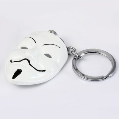 V for Vendetta Mask Shaped Metal Key ChainHome Gadgets<br>V for Vendetta Mask Shaped Metal Key Chain<br><br>Material: Alloy, Metal<br>Package Contents: 1 x Key Chain<br>Package size (L x W x H): 16.5 x 7.9 x 3.7 cm / 6.48 x 3.10 x 1.45 inches<br>Package weight: 0.067 kg<br>Product size (L x W x H): 12.2 x 4.1 x 1.3 cm / 4.79 x 1.61 x 0.51 inches<br>Product weight: 0.028 kg<br>Type: Key Chain