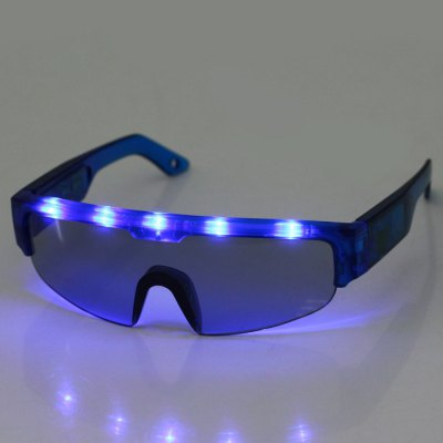 Cool DJ Style 5 Light Flashing LED GlassesChristmas Supplies<br>Cool DJ Style 5 Light Flashing LED Glasses<br><br>Color: Red,Blue,Green<br>For: Student, Friends, Brothers, Sisters, All<br>Material: Plastic<br>Package Contents: 1 x Flashing LED Glasses, 3 x AG13 Button Battery<br>Package size (L x W x H): 21.00 x 11.00 x 6.50 cm / 8.27 x 4.33 x 2.56 inches<br>Package weight: 0.0690 kg<br>Product size (L x W x H): 15.60 x 14.50 x 4.80 cm / 6.14 x 5.71 x 1.89 inches<br>Product weight: 0.0380 kg<br>Usage: Birthday, Stage, Party, Performance, New Year, Halloween, Christmas