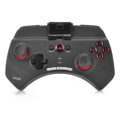 IPEGA PG-9025 Multimedia Bluetooth GamepadGame Controllers<br>IPEGA PG-9025 Multimedia Bluetooth Gamepad<br><br>Battery Type: Built-in<br>Capacity: 380mAh<br>Compatible with: Smartphone<br>Connection Type: Bluetooth<br>Features: Battery, Charger<br>Functions: Bluetooth<br>Model: PG-9025<br>Package Contents: 1 x Game Controller, 1 x Charging Cable, 1 x English and Chinese User Manual<br>Package size: 15.20 x 9.10 x 4.70 cm / 5.98 x 3.58 x 1.85 inches<br>Package weight: 0.323 kg<br>Product size: 10.40 x 7.70 x 3.20 cm / 4.09 x 3.03 x 1.26 inches<br>Product weight: 0.253 kg<br>System support: IOS, Android<br>Working Time: 20 hours