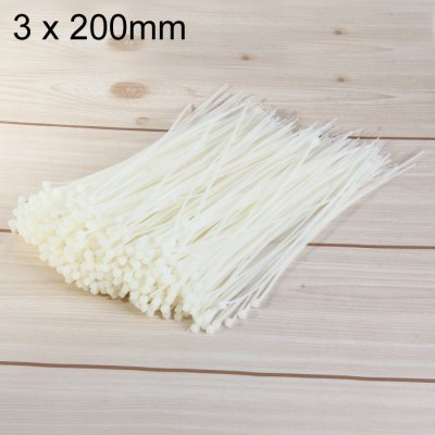 500PCS Nylon Cable Ties