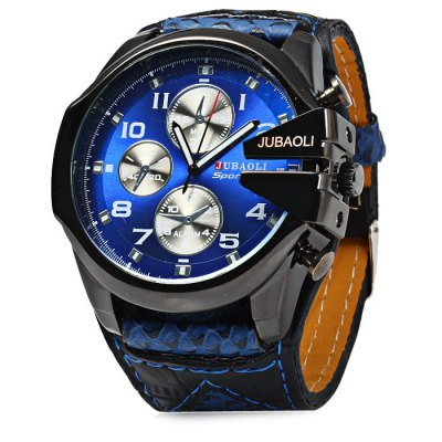 Jubaoli Big Dial Men Quartz Watch