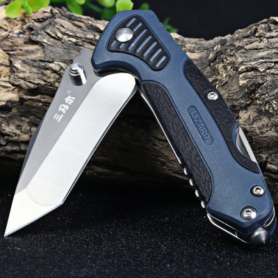 Sanrenmu 7094 STX-PIH-T4 Multi-function Folding KnifePocket Knives and Folding Knives<br>Sanrenmu 7094 STX-PIH-T4 Multi-function Folding Knife<br><br>Blade Edge Type: Fine<br>Blade Length: 6.6 cm<br>Blade Length Range: 5cm-10cm<br>Blade Material: Stainless Steel<br>Blade Width : 2.1 cm<br>Brand: Sanrenmu<br>Clip Length: 4.0 cm<br>Color: Green<br>For: Mountaineering, Collecting, Travel, Home use, Adventure, Hiking, Camping<br>Handle Material: Plastic<br>Lock Type: No lock<br>Model Number: 7094 STX - PIH - T4<br>Package Contents: 1 x Sanrenmu 7094 STX-PIH-T4 Folding Knife<br>Package size (L x W x H): 16 x 9.5 x 3.5 cm / 6.29 x 3.73 x 1.38 inches<br>Package weight: 0.135 kg<br>Product size (L x W x H): 9.7 x 3.0 x 1.5 cm / 3.81 x 1.18 x 0.59 inches<br>Product weight: 0.076 kg<br>Unfold Length: 16.5 cm<br>Weight Range: 51g-100g